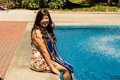 goin for a dip (AdrienneCredoPhotography) Tags: california summer portrait nikon graduation southern socal graduate celebrate irvine accomplishment d3200