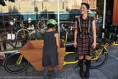 Finch-fiets unveiling at Velo Cult-25 (BikePortland.org) Tags: cargobikes metrofiets emilyfinch finchfiets