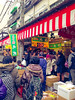 Lots of people shopping for seafood (karebear_stare) Tags: people food japan tokyo crowd tsukiji seafood fishmarket