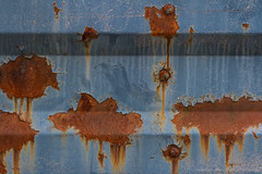 144/365 Rusty Spots (Photograaff) Tags: old abstract rust rusty weathered guardrail 365daysproject