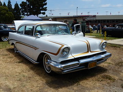 1956 Chev Kustom (bballchico) Tags: chevrolet scallops santamaria 1956 custom carshow kustom lakepipes cruisinnationals westcoastkustomscruisinnationals