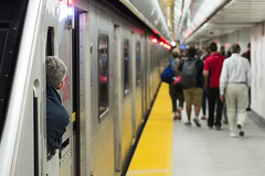 A New Union (BB ON) Tags: toronto station train subway construction metro ttc union rail transit rocket yonge conductor openingday secondplatform