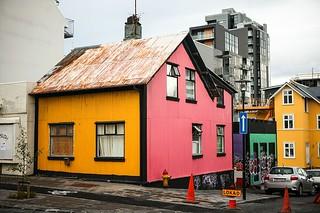 Multicolor house