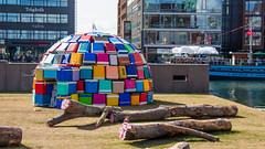 art colors festival colorful konst malmö igloo malmöfestivalen coolerbag kylväska