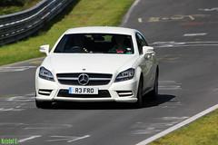 Mercedes CLS (Kristof E.) Tags: mercedes august augustus cls nordschleife 2014 nrburgring touristenfahrten