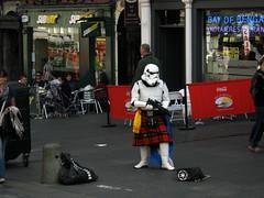 Who's next (rjevans6) Tags: starwars edinburgh kilt royalmile imperialstormtrooper