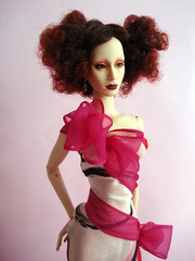 Star of Hollywood (Nina-chan) Tags: la losangeles doll rosebud convention salon gown exclusive wot 2014 eville sybarite superdoll downtowndrama