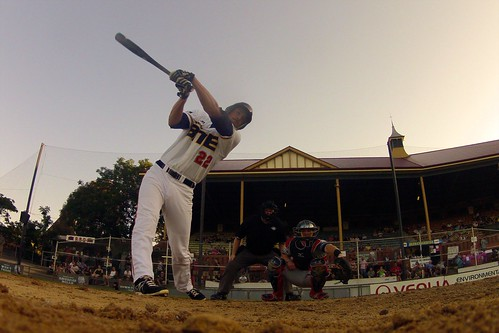 ABL - 9 January 2014 - Adelaide Bite v Melbourne Aces - Game 1