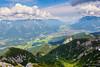 Cable car ascending (mnielsen9000) Tags: valley cablecar garmischpartenkirchen mountainrange wetterstein d600 alpspitze nikon2470