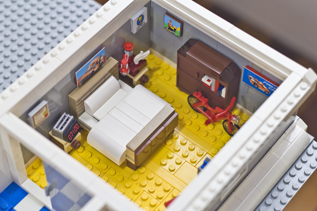 The Lego Movie Vitruvius Apartment