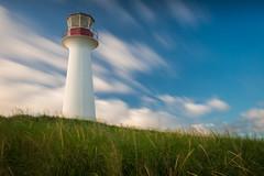 Le Borgot (ISP Bruno Laplante) Tags: blue red sky lighthouse green clouds de landscape rouge la nikon vert bleu explore ciel cap le qubec nikkor nuages aux blanc phare qc f28 les d800 2470mm meules whtite medeleine hriss borgot