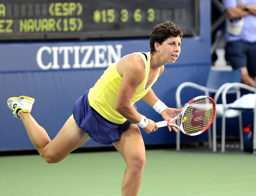 Carla Suarez Navarro - 2014 US Open (Tennis) - Tournament - Carla Suarez Navarro