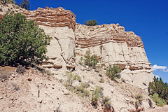 (K. Sawyer Photography) Tags: newmexico limestone canyons rockformations plazablanca abiquiunewmexico okeeffecountry thewhiteplace georgiaokeeffecountry plazablancanewmexico