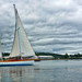 Sailing Lunenburg Harbor NS