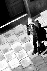 B&W (josephzohn | flickr) Tags: girls people fromabove människor uppifrån brahegatan
