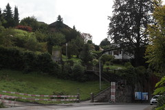 A1929 Infanteriebunker Eichbhl II ( Bunker - Militrbunker ) getarnt als Bauernhaus der Sperre - Sperrstelle Eichbhl des Reduit aus der Zeit des zweiten Weltkrieg in Hnibach im Berner Oberland im Kanton Bern in der Schweiz (chrchr_75) Tags: schweiz switzerland suisse swiss september bunker christoph svizzera militr 2014 1409 suissa sperre chrigu kantonbern chrchr hurni chrchr75 chriguhurni chriguhurnibluemailch september2014 sperrstelle infanteriebunker militrbunker hurni140910