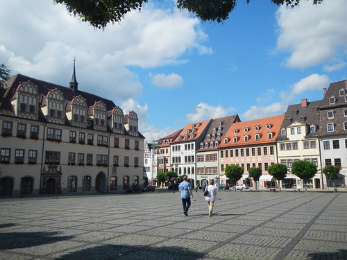 Market Square, Naumburg, Germany