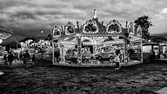LUNA PARK 08 (Mac (formerly) of BIOnighT) Tags: park blackandwhite bw carousel luna bn biancoenero macofbionight