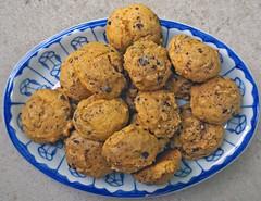 Self rising flour pumpkin chocolate chip walnut cookies (carpingdiem) Tags: food
