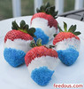 Champagne Soaked Red, White & Blue Chocolate-dipped Strawberries (feedous) Tags: blue white champagne strawberries chocolatedipped soaked