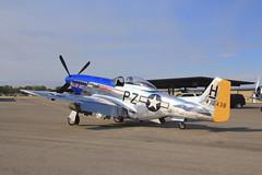 WAR HAWK AIR SHOW -153 (Gerry Slabaugh) Tags: world history museum plane war fighter hawk air wwii idaho ii mustang curtis nampa p51 p38 c40 gerryslabaugh