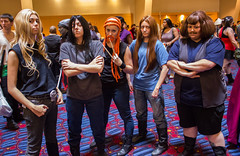 IMG_0448.jpg (Evil Benius) Tags: atlanta georgia costume unitedstates cosplay convention pickles dragoncon dethklok metalocalypse nathanexplosion tokiwartooth skwisgaarskwigelf williammurderface dragoncon2014