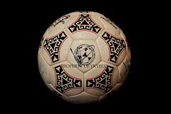 TANGO AZTECA PUEBLA FIFA OFFICIAL 1986 ADIDAS MATCH BALL 05 (ykyeco) Tags: ball mexico football official fussball top fifa soccer ballon tango match bola adidas 1986 puebla pelota palla balon pallone pilka azteca  omb  matchball spielball