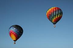 Balloon (historygradguy (jobhunting)) Tags: two ny newyork balloon upstate 101 hotairballoon glensfalls washingtoncounty adirondackballoonfestival adirondackballoonfestival2014