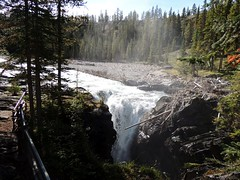 Siffleur Falls (kevinmklerks) Tags: mountains nature forest river rockies waterfall rocky falls plains siffleur kootney
