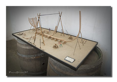 Maketa (PhotoStudio37) Tags: san juan museo construccin nao vasco koldo ribera siglo xvi pasaia artesano carpintera rplica ballenero factora galen albaola