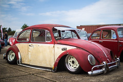 The People's Car (NeilllP) Tags: show uk car vw bug air beetle scene peoples players slammed stance players80
