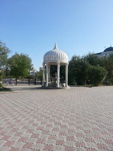 Fountain, Nurdaulet mosque ©  bibitalin