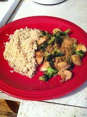 Sesame Chicken and Broccoli (bnichnadowicz) Tags: chicken sesame broccoli