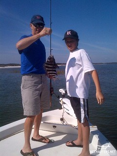 family friendly fishing charter Amelia Island, FL