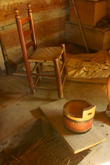 Colonial Williamsburg (tedavisphotography) Tags: stilllife house history buildings virginia bucket chair farm williamsburg colonialwilliamsburg sonya65