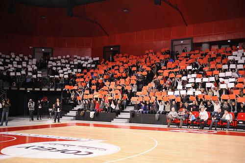 Ambiance supporter  Ékinox - ©JLBourgBasket