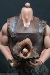 Kaustic Plastik Fantasy Warrior Set - Headsculpt (edwicks_toybox) Tags: sword barbarian 16scale kp02 musclebody fantasywarrior kausticplastik