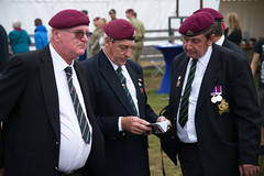 Veterans of the Staffordshire Regiment #Margetgarden2014 #Airborne_2014