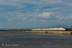 TGV RENFE - SNCF A LEUCATE - 29 agosto 2014 (Frank Andiver - Trains, transports and more...) Tags: train canon frank photo photos merci rail trains rails francia tgv treni ferrovie binario leucate andiver renfetreno
