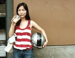 Ria ~ Stranger # 105 (Bean*) Tags: film project stranger 100 ria