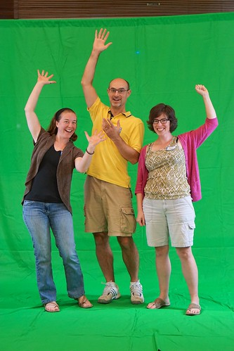Virtual Reunion on the Green Screen