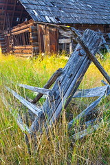 Broken Fence (stevenbulman44) Tags: summer holiday color barn canon fence landscape filter shuswap lseries 1740f40l