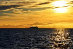 Trip over to Lochboisdale net washing (leanish) Tags: sunrise dawn hebridies sweetcaroline isleofbarra lochboisdale salmonfarming hellisay marineharvest westernisle marineharvestwork