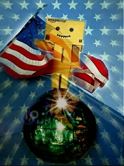 Happy 4th of July America (karmenbizet73) Tags: usa art america toys photography flickr toystory americanflag 4thofjuly eyespy danbo americanpride 178365 danboard photodevelopment danbolove toysunderthebed 2015365photos