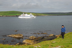 ARR_1445 (Heritage Expeditions) Tags: britishisles clipperodyssey culture mousa scenery shetlandislands ships
