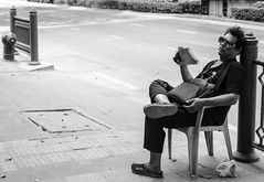 Hot Day (dmjames58) Tags: street streetphotography streetlife blackandwhite bw leicam240 bangkok urban travel documentary