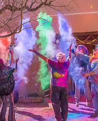 Holi, Festival of Colors (inlightful) Tags: humans people fun celebration holi colors festival festivalofcolors love joy colour powder party event newmexico socorro socorropubliclibrary socorrocounty southwest