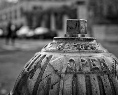 Open (Mister Blur) Tags: hmm macromondays bw open hydrant new york city nyc blackandwhite depthoffield bokeh thecure nikon d7100 35mm