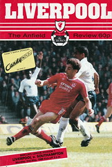 Liverpool vs Southampton - 1988 - Cover Page (The Sky Strikers) Tags: liverpool southampton anfield the review official programme 60p barclays league division one