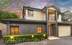 7/54-56 Barclay Road, North Rocks NSW